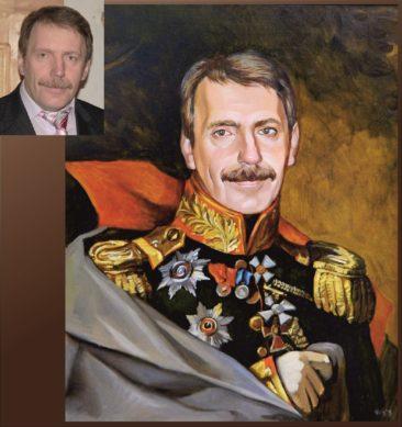 Настоящий портрет маслом на заказ в Йошкар-Оле…