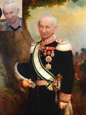 Где заказать исторический портрет по фото на холсте в Йошкар-Оле?