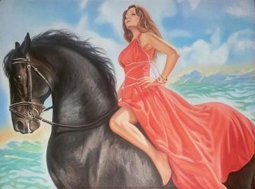 Настоящий портрет маслом на холсте в Йошкар-Оле…