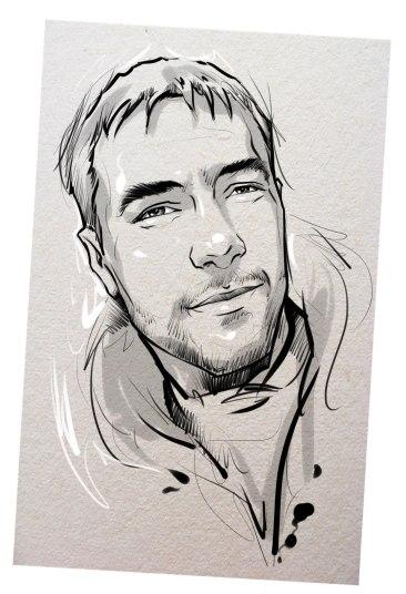Портрет карандашом любимому мужу в Йошкар-Оле…