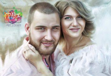 Где заказать портрет по фотографии на холсте в Йошкар-Оле?